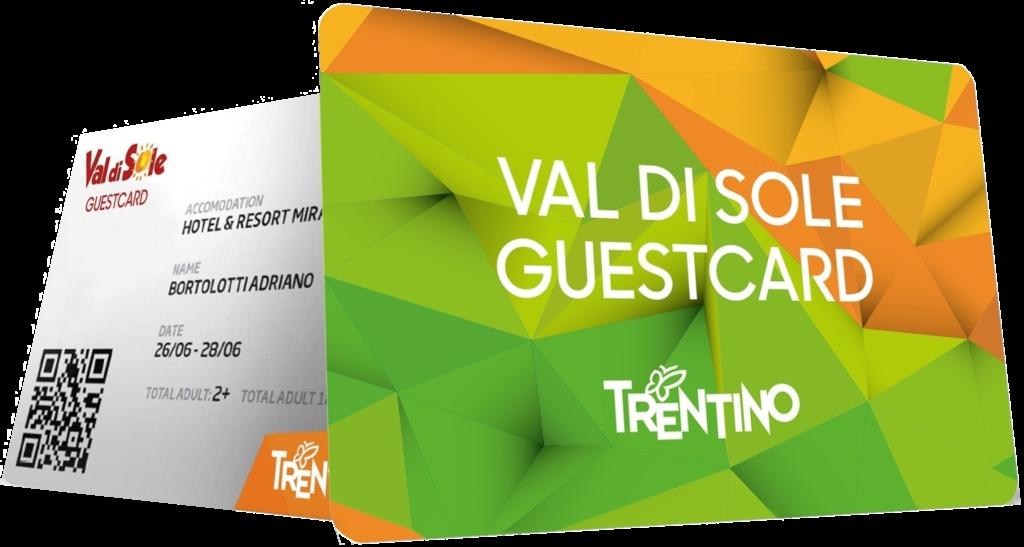 VAL DI SOLE GUEST CARD
